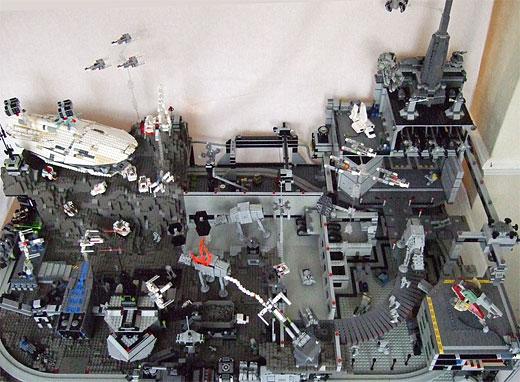 Lego star wars diorama 4